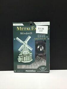 Fascinations Metal Earth Windmill 3D Metal Model Kit