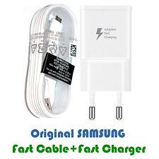 Adaptador cargador para Samsung Galaxy NOTE 4 cable usb CARGA RAPIDA