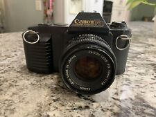 Canon T50 35mm Slr Film Camera with 50mm f1.8 Lens Kit Tested Free Shipping
