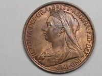 BU 1895 Great Britain Penny.  #28