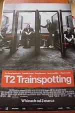 "T2 - Trainspotting - Movie Poster - Polish Release 27"" x 38"""