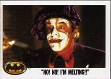 1989 Topps Batman # 72 No No I'm Melting