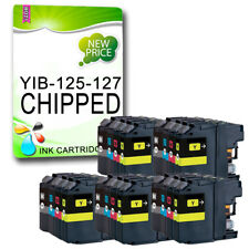 20 Chipped Ink Cartridge Replace For Brother MFC-J4610DW MFC-J4710DW LC127