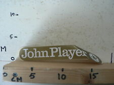 STICKER,DECAL JOHN PLAYER SPECIAL JPS GOLD STICKER