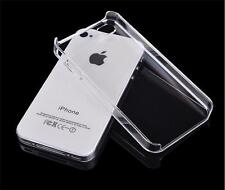 New Slim Glossy Crystal Clear Hard Plastic Back Case Cover For Apple iPhone 4 4S