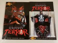 Lot Of 2 Dynamite Black Terror Volumes 1 2 Graphic Novels Paperback Alex Ross