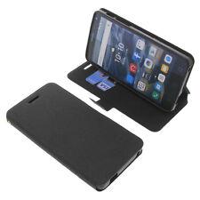 Funda para Alcatel One Touch Pop 4S Book Style Funda Protectora Gadget Negro