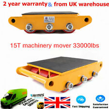 More details for heavy duty 15t machinery mover dolly skate roller machinery mover rotary roller