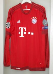 Match worn shirt Bayern Munich Germany national team Müller Champions league