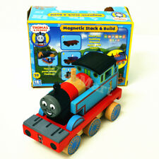 New Wood Magnetic Stack & Building Block Train Thomas