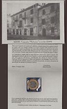 PRECURSORI EURO U.C.C. ALBATE COMO APRILE 2001 CENT. PRIMA COOPERATIVA ALBATE