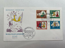 "Germany Berlin FDC 1965  Fairy Tale ""Cinderella"" Bird"