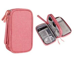 Electronics Organizer Electronic Accessories Cable Organizer Gadget Carry Bag US