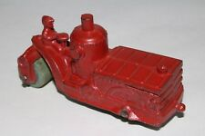 1930's Kansas Toys #43 Steam Road Roller, Red, Nice Original #3