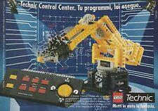 X7422 LEGO - Technic Control Center - Pubblicità del 1990 - Vintage advertising