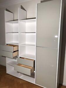 Kettnaker Regal System, Absolut Neuwertig mit Türen und Schüben - abholbereit !