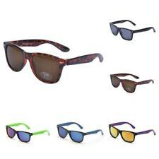 Eyelevel Kinder Retro Sonnenbrille UV400 Getönt Reflektierend Spiegel Schildpatt