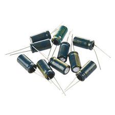 Hot!10Pcs 10V 3300UF Motherboard Electrolytic Capacitor Radial Free Shipping DI