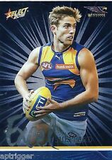 2016 Select Footy Stars Excel Parallel (EP205) Brad SHEPPARD West Coast