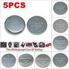 5x SUPER FRESH CR1632 Li-ion Battery 3V Coin Button Cell for Panasonic Genuine