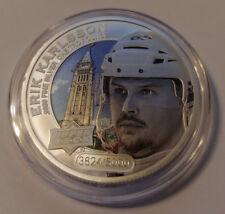 2017 Upper Deck Grandeur 1oz Silver Coin Hockey ERIC KARLSSON /5000