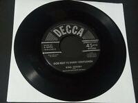 "[1947] Bing Crosby: White Christmas/ God Rest Ye Merry Gentlemen [VG+] 7"" record"