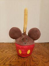 "Nwt Disney Parks Mickey Mouse Candy Apple 10½"" Plush Food Series Disneyland"
