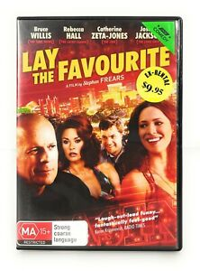 Lay The Favourite (DVD, 2012) Bruce Willis Rebecca Hall Region 4 Free Postage