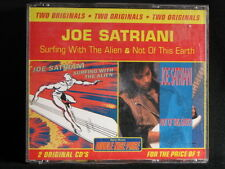 Joe Satriani. Surfing With The Alien and Not Of This Earth. 2-Compact Disc Set.