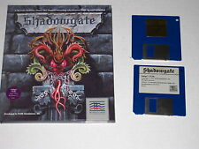 Shadowgate  (Amiga, 1987) Rare, Vintage Game, Includes Hint Disk