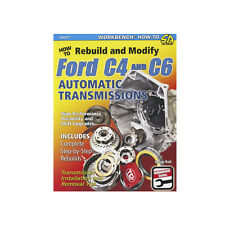 """Book """"HOW To Rebuild & Modify C4 & C6 Automatic Transmissions"""""""