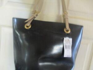 MICHAEL Michael Kors Black  Jet Set  Patent Leather Tote MSRP $248