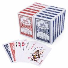 Playing Cards Poker Size Standard Index 12 Decks of 6 Blue and Red by Lotfancy