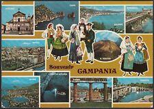 AA5861 Souvenir della Campania - Vedutine - Cartolina postale - Postcard