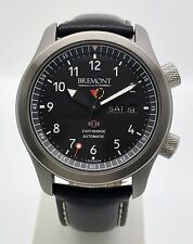 Bremont Martin Baker II MB II Black Edition 43mm Men's Watch B&P Extra Strap