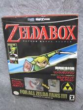 ZELDA BOX LEGEND OF Complete Art Set w/Poster Figure CD Guide Book