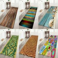Area Rug Bedroom Bathroom Kitchen Water Absorption  Non-Slip Mat Carpet Decor
