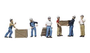 Woodland Scenics A1823 Hafenarbeiter, Figuren Miniaturwelten H0 (1:87)