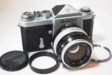 """RARE Early Model"" [EXC+++] Nippon Kogaku Nikon F Eyelevel w/S Auto Ai 50mm F1.4"