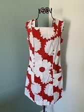 KUONAKAKAI Hawaiian Dress Red/Cream Flowers