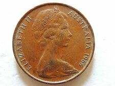 1966 Australia Two (2) Penny Coin