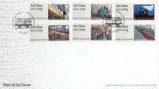 (42466) GB FDC Post and Go Mail by Rail Hemel Hempstead 2017