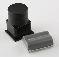 Nikon Accessories Pack Bundle: EN-EL3e Battery & Xtend-a-View LCD Viewer & Case