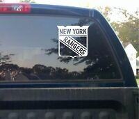 "New York Rangers NHL Hockey Logo 5"" Vinyl Car Truck DECAL Window STICKER Graphic"