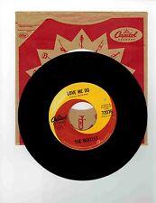 The Beatles 45 rpm Record'' Love Me Do''Canada Record''