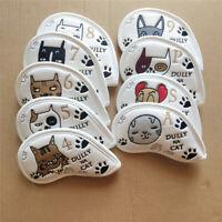 Cute Animal Golf Club Iron Head Covers  Iron Headcover for Taylormade Mizuno X9