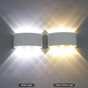 Modern Sconce Indoor/Outdoor Modern LED Wall Lamp Up Down Light Garden Balcony