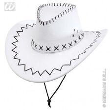 Cappello cowboy Bianco a cappelli e copricapi per carnevale e teatro ... 87d06e00c584