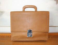 Goldpfeil Tasche, seltene Vintage Aktentasche, Leder, 100 % Original