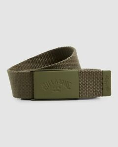 Billabong Cog Belt Mens in Military